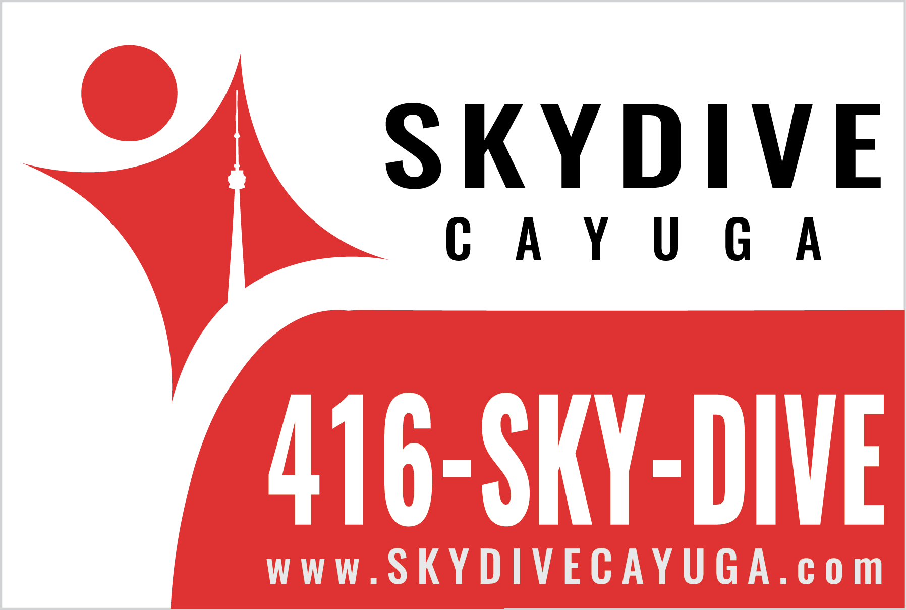 Skydive Ontario Sign