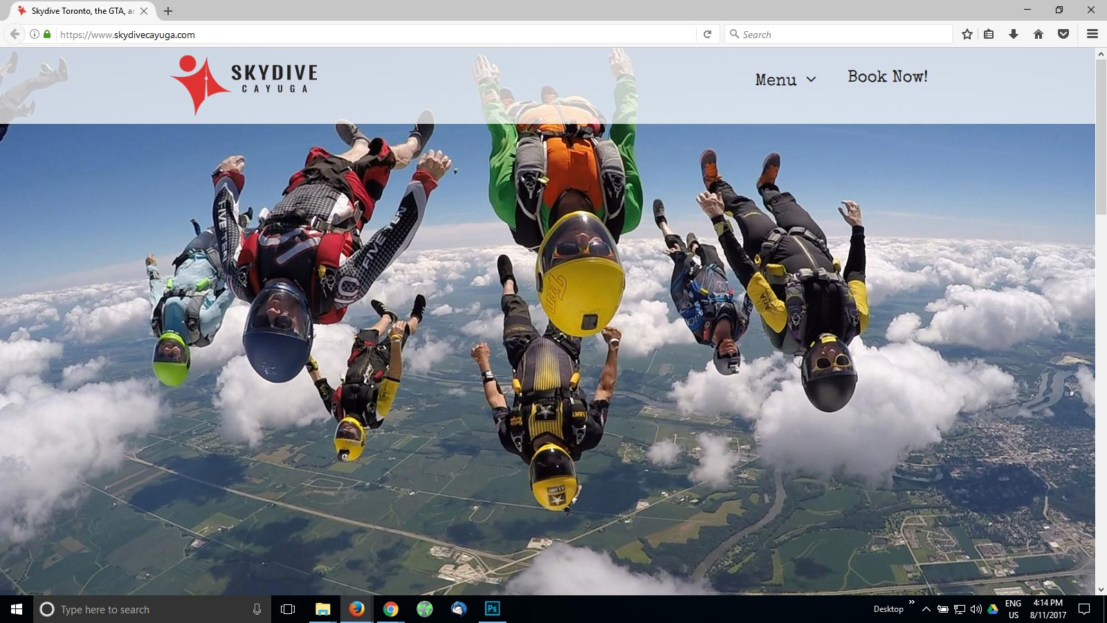 Skydive Photos Example